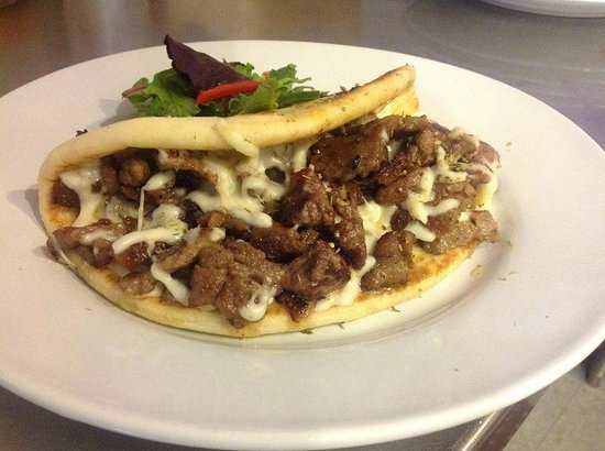 Taste of Troy: GYRO AND CHEESE
