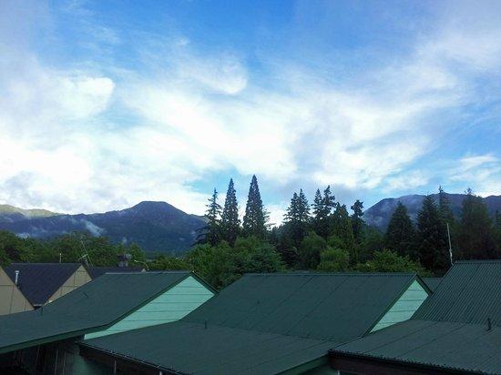 Hanmer Resort Motel: View from room