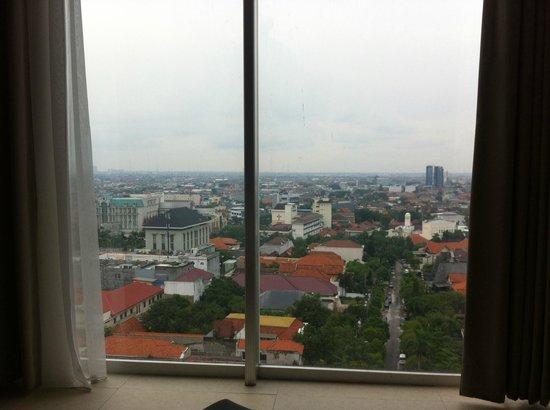 Midtown Hotel: vue depuis la chambre2