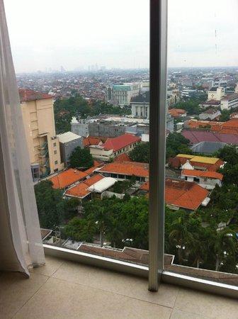 Midtown Hotel: vue depuis la chambre