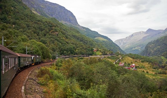 The Flam Railway: up & down