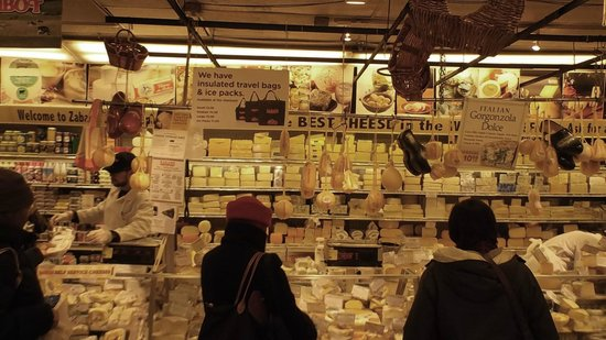 Zabar's: Cheese Counter