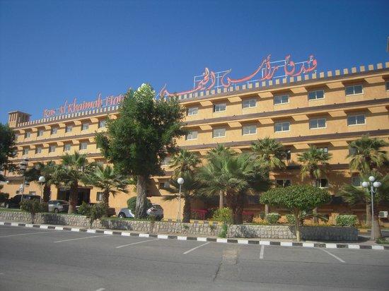 Ras Al Khaimah Hotel: Façade de l' hôtel