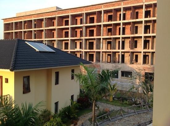 Eden Resort: udsigt fra balkon