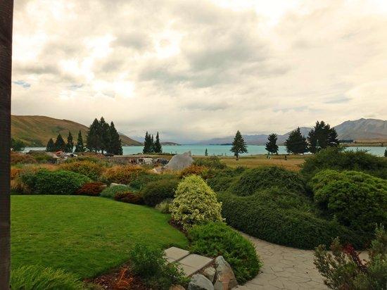 Lake Tekapo Village Motel: View from our downstairs studio