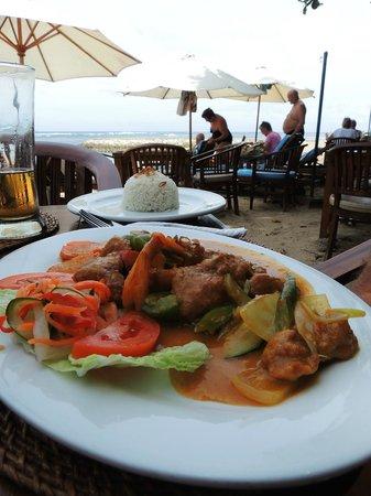Rosetta Coffee Shop: Shrimp, fish, chicken dish