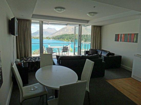 Oaks Club Resort: Living room