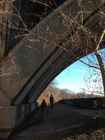 Potomac Heritage National Scenic Trail: Under the Key Bridge