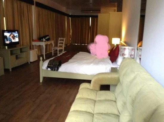 Ao Nang Naga Pura Resort & Spa: a room 1101 suspected to be previously used as a functional room.