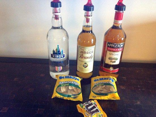Secrets Wild Orchid Montego Bay: the 'mini' bar