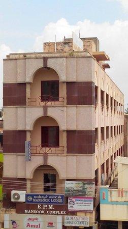 Mayiladuthurai, الهند: Front Elevation