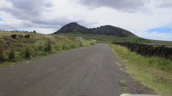 Maunga Terevaka : Isolated Road.