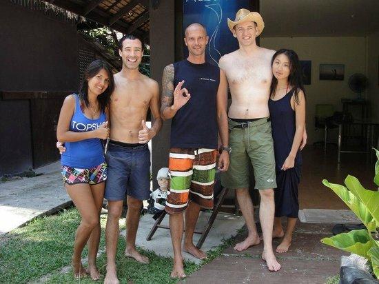 Andaman Apnea : Ja, James, Miguel, Max and Xuan