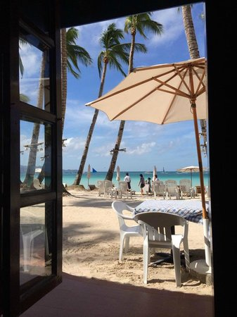Crystal Sand Beach Resort : Breakfast view