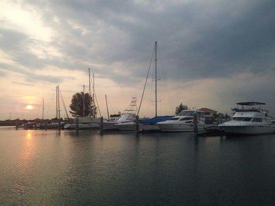 Avillion Admiral Cove: Boats at Marina Bay