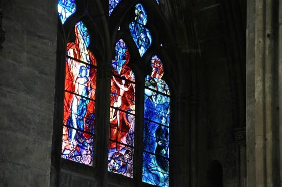 Metz Cathedral: Windows (Chagall)