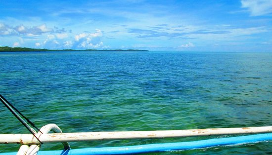 Banawa Sand Bar: Reef area of Banawa