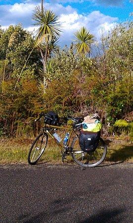 Cycle Auckland: Near Turangi, lake Taupo