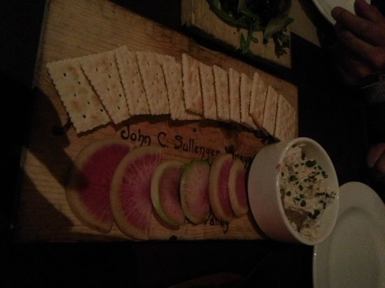 Luggage Room Pizzeria: Luggage Room Smoked Fish Dip $10