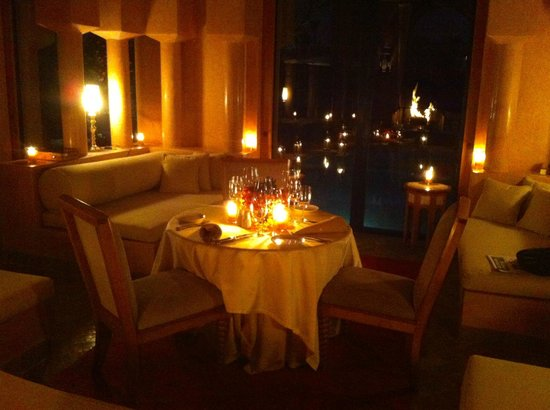 Amanjena: the amazing Aman touch for a dinner in style