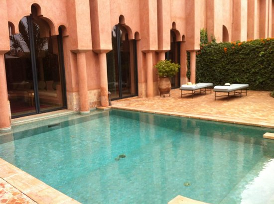 Amanjena: our private pool: Maison number 3