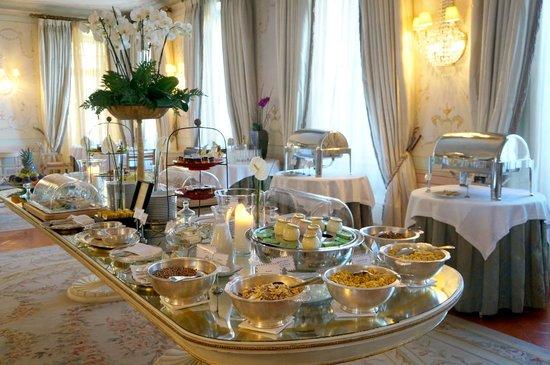 Tivoli Palácio de Seteais: Part of the breakfast buffet.