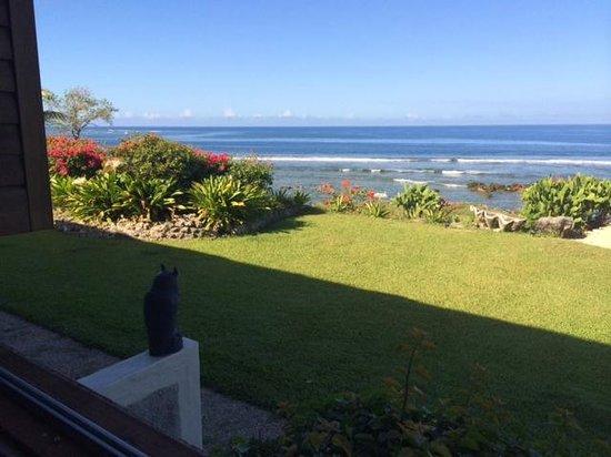 White Grass Ocean Resort & Spa: vue du coin repas