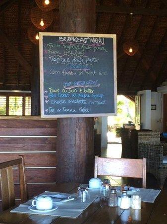 White Grass Ocean Resort: Petit dejeuner