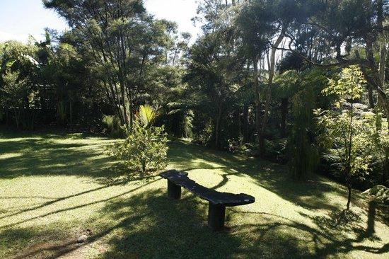 Driving Creek Villas: Common Gardens - Tokatea /Kaipawa Villa