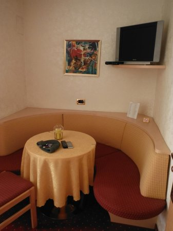 Hotel Garni Günther: salotto