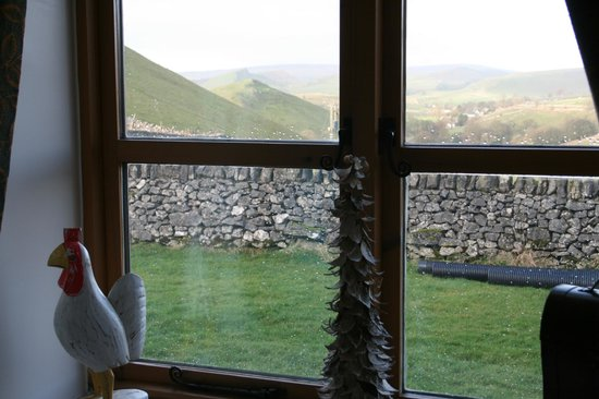 Wheeldon Trees Farm Holiday Cottages: view from lounge in Sheldon Cottage
