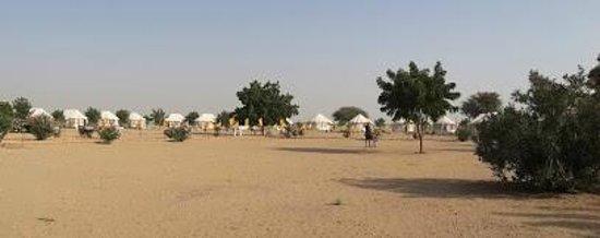 Royal Desert Camp Jaisalmer: View