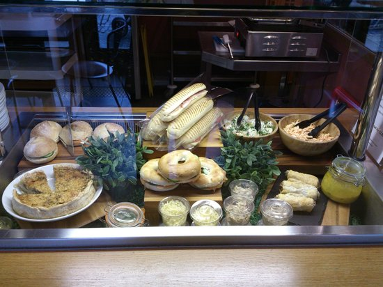 The Refectory at Southwark Cathedral : Refectory selection of homemade sandwiches
