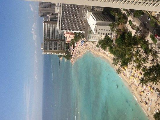 Aston Waikiki Beach Tower : View from room 3504
