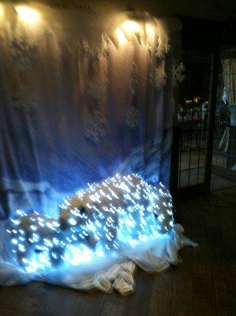 The Black Swan: Christmas Polar Bear display