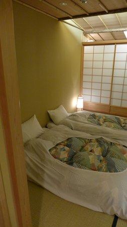 Kyomachiya Ryokan Sakura Honganji: Bed