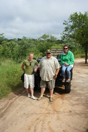 Tydon Safari Camp: With Jacques our excellent guide!