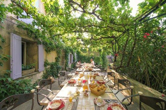 Le Domaine des Carmes & Spa: Breakfast aera