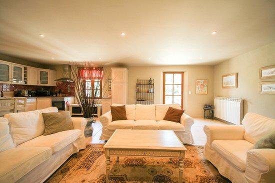 Les Carmes : Apartment living room