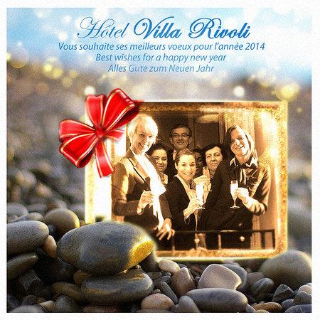Hotel Villa Rivoli : Seasons greetings