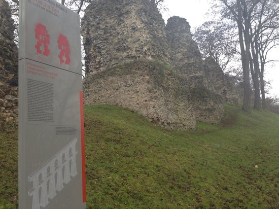 Roman aqueduct Mainz Germany