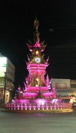 Clock Tower: Night scene