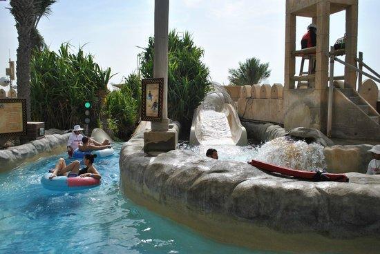 Wild Wadi Waterpark: Start of Slides
