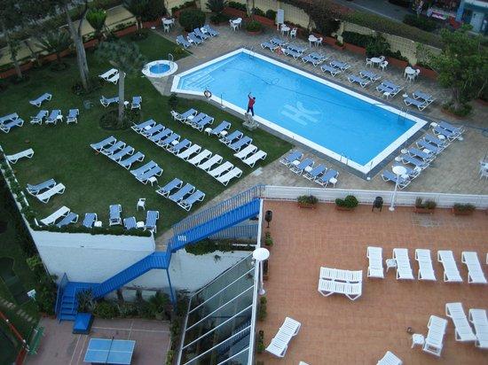 Catalonia Las Vegas : La piscina