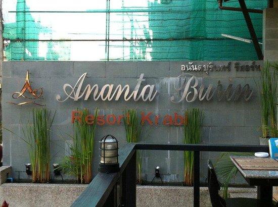 Ananta Burin Resort: Entrance