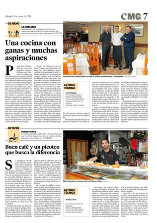 Cafe Buenos Aires Actur : Heraldo de Aragón