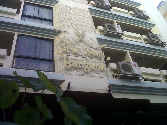 True Siam Phayathai Hotel : Hotel facade