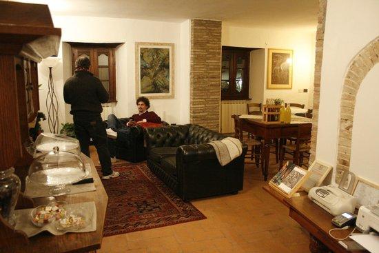 Hotel Porta del Tempo: Sala comune
