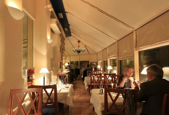 Best Western Plus Hotel Mirabeau: Restaurant veranda