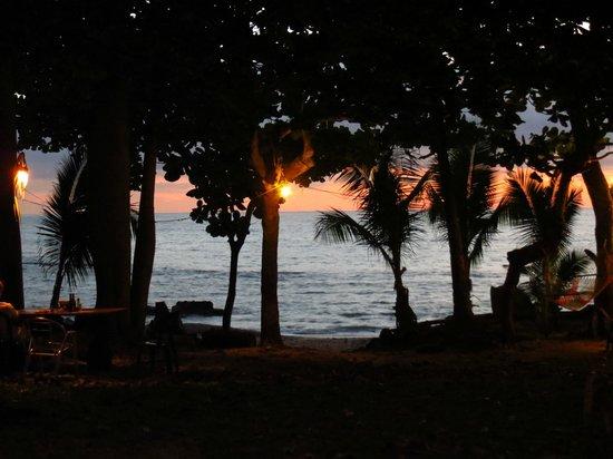 Las Caracolas : sunset